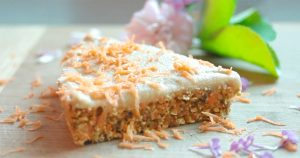 No Bake Vegan Carrot Cake