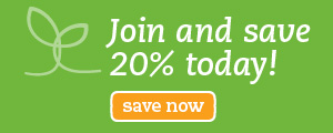Join and save 20% today!